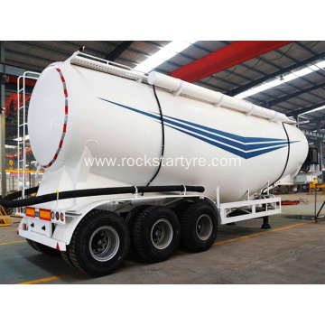 3 Axle  Semi Bulk Cement Trailer